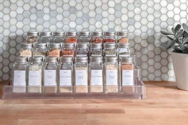Tiered Spice Rack Organizer
