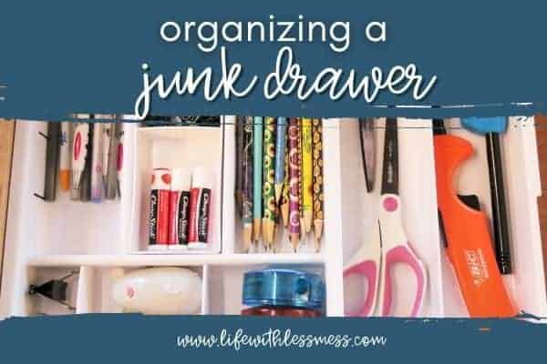 Organizing a Junk Drawer in 5 Simple Steps