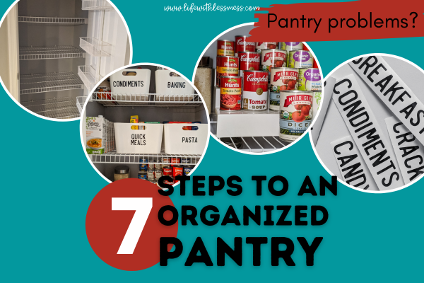 7 Simple Steps to Organize Your Pantry
