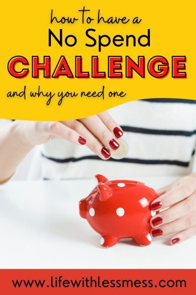 No Spend Challenge is a great way to save money, focus on what matters, and reset spending habits.