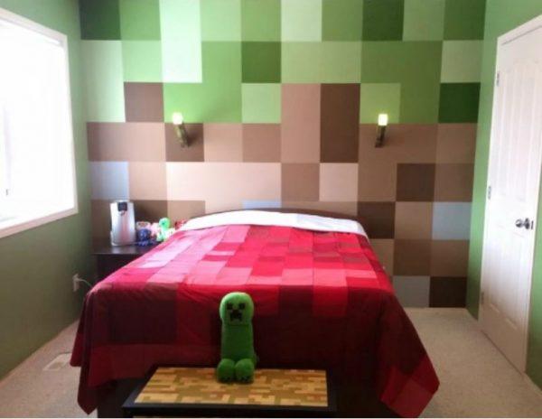 Minecraft Bedroom Inspiration