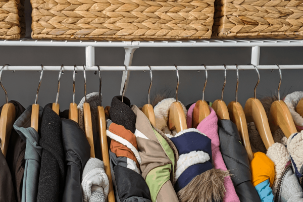 Entry Closet Organization Ideas