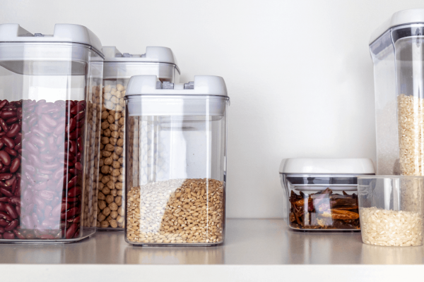 Using Canisters for Pantry Organization