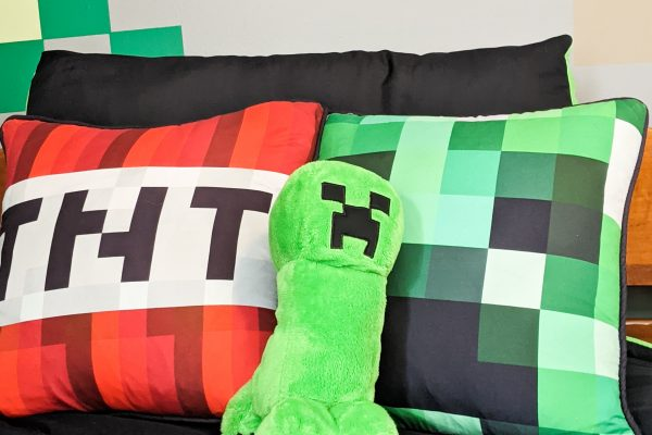 How to create a Minecraft Themed Bedroom