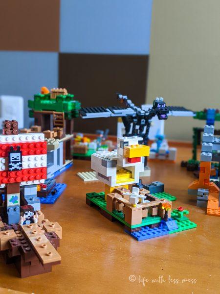 Minecraft LEGO are always set up.