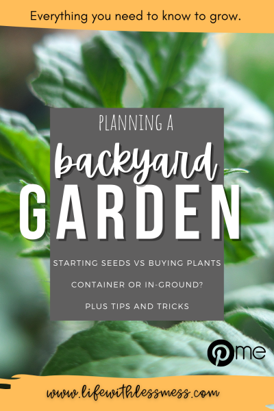 Everything you need to know about backyard gardening.