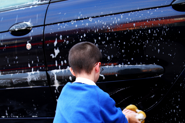 clutter free gifts for dad - a nice clean car