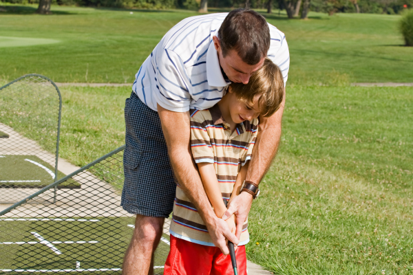 thoughtful gifts for dad - a day of golf
