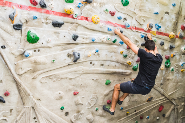 thoughtful gifts for dad - rock climbing