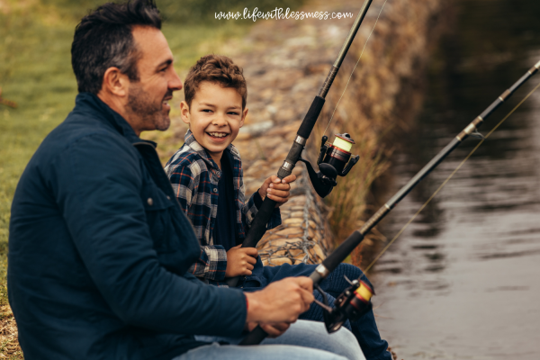 thoughtful gifts for dad - a day of fishing