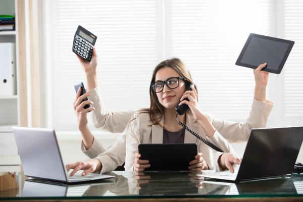 A multitasking mind is a cluttered mind