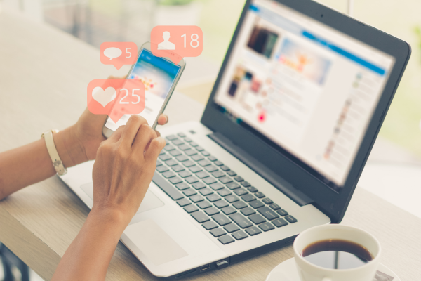 Unfriending and unfollowing on social media is one way to declutter your mind