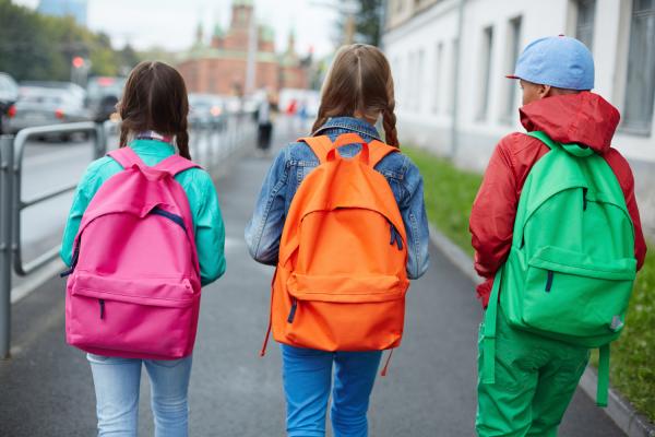 kids heading back to school