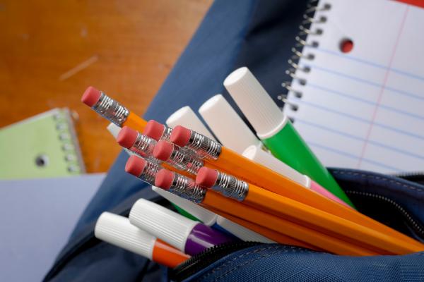 Back to school preparation: New school supplies