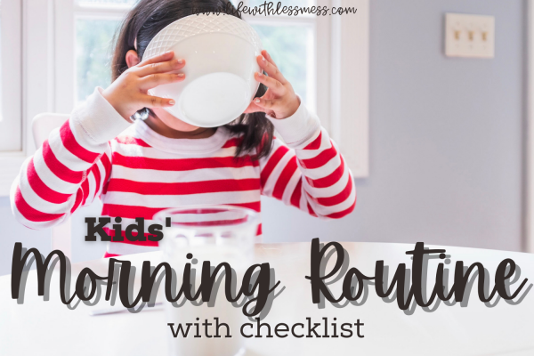 Kids' Morning Routines: Why you need one and how to make one!