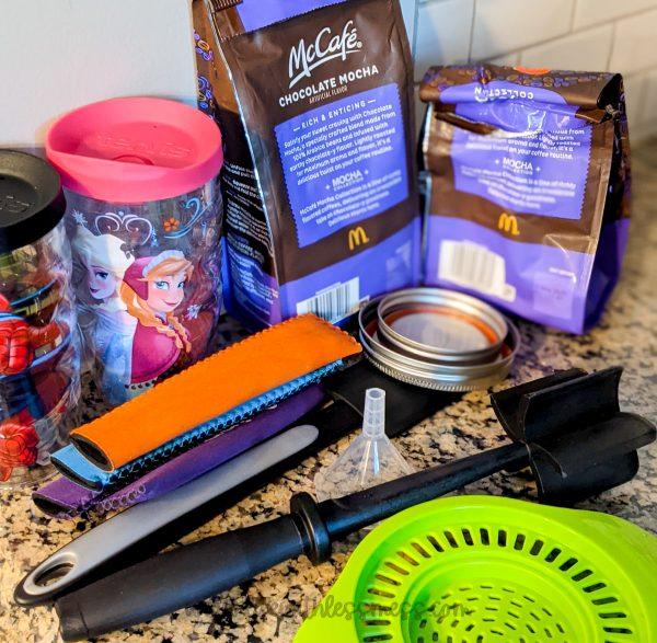 Decluttered kitchen items