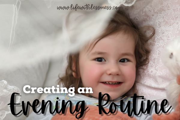 An evening routine might just be what you need for a stress free morning.
